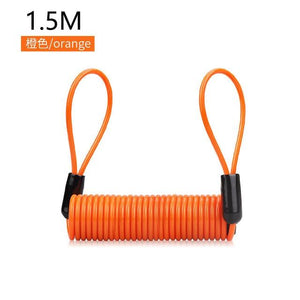 Anti-theft Waterproof Moto Bike Lock Cycling Security Lock Bikewest.com Orange