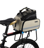 Load image into Gallery viewer, Bicycle 3 in 1 Trunk Bag Road Mountain Bike Bag Cycling Double Side Rear Rack Luggage Carrier Tail Seat Pannier Pack Bikewest.com