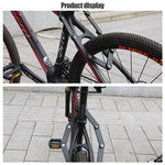Load image into Gallery viewer, Bicycle Alloy Steel Folding Lock Bikewest.com