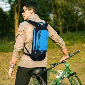 Bicycle Bag Waterproof Bike Backpack Nylon Cycling Hiking Camping Hydration Backpack Bike Equipment 10L Riding Bag Bikewest.com