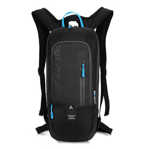 Bicycle Bag Waterproof Bike Backpack Nylon Cycling Hiking Camping Hydration Backpack Bike Equipment 10L Riding Bag Bikewest.com black