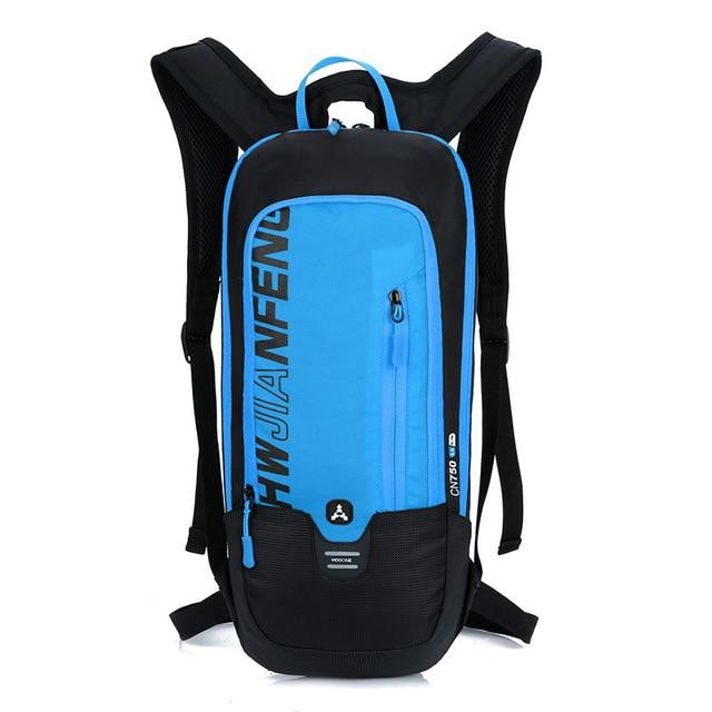 Bicycle Bag Waterproof Bike Backpack Nylon Cycling Hiking Camping Hydration Backpack Bike Equipment 10L Riding Bag Bikewest.com blue