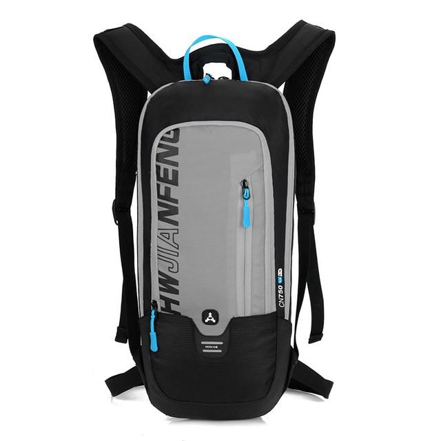 Bicycle Bag Waterproof Bike Backpack Nylon Cycling Hiking Camping Hydration Backpack Bike Equipment 10L Riding Bag Bikewest.com gray