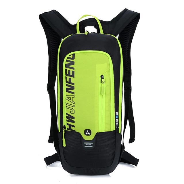 Bicycle Bag Waterproof Bike Backpack Nylon Cycling Hiking Camping Hydration Backpack Bike Equipment 10L Riding Bag Bikewest.com green