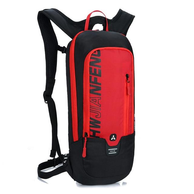 Bicycle Bag Waterproof Bike Backpack Nylon Cycling Hiking Camping Hydration Backpack Bike Equipment 10L Riding Bag Bikewest.com red