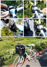Load image into Gallery viewer, Bicycle Basket Handlebar Pannier Cycling Bikewest.com