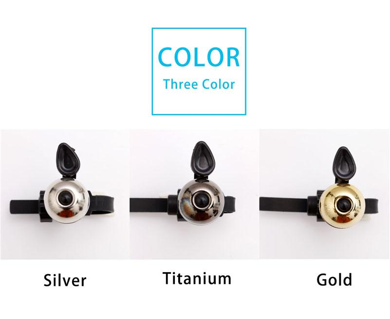 Bicycle Bell Pure Copper Bike Sound Handlebar Ring Horn Safety Alarm Bell Timbre Bicicleta Accessories Bicycle Bell Bikewest.com