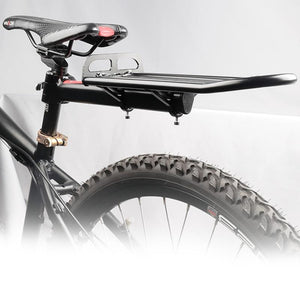 Bicycle Cargo Alloy Carrier Seat Post Quick Mount Bikes Rear Luggage Bikewest.com