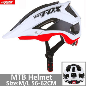 Bicycle Helmet Red Road Mountain Bikewest.com J-659-T1