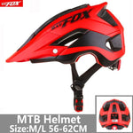 Load image into Gallery viewer, Bicycle Helmet Red Road Mountain Bikewest.com J-659-T6