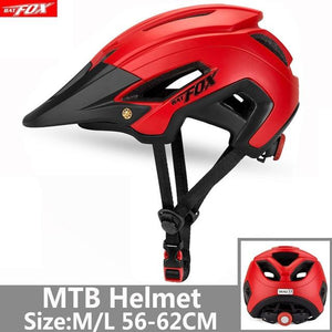 Bicycle Helmet Red Road Mountain Bikewest.com J-692-T2