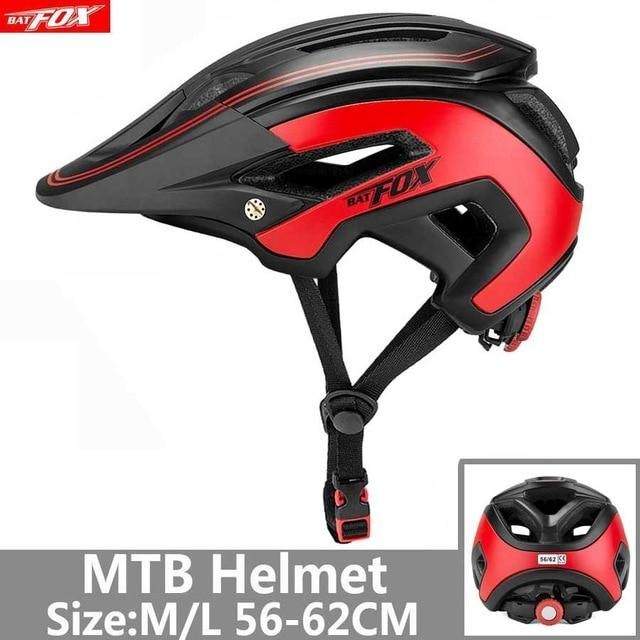 Bicycle Helmet Red Road Mountain Bikewest.com J-692-T7