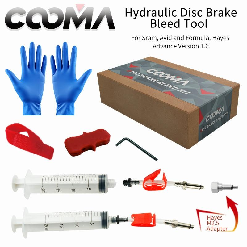Bicycle Hydraulic Brake BLEED KIT for SRAM and AVID Brake System Bikewest.com