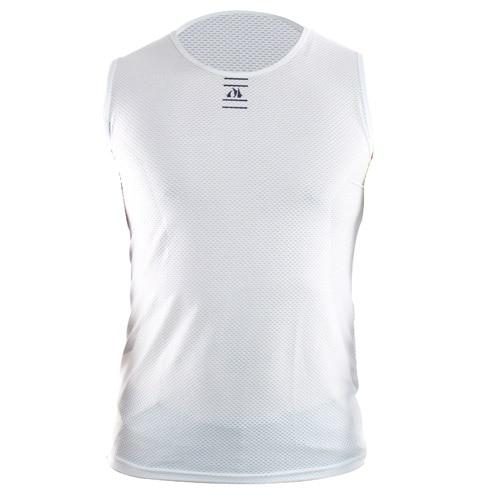 Bicycle Sleeveless Shirt Highly Breathbale Cycling Jersey Bikewest.com White S