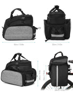 Load image into Gallery viewer, Bike Bag 13L Multifunctional Bicycle Rear Seat Bikewest.com