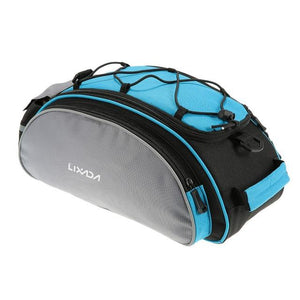 Bike Bag 13L Multifunctional Bicycle Rear Seat Bikewest.com blue