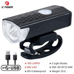 Load image into Gallery viewer, Bike Bicycle Light USB LED Bikewest.com headlight