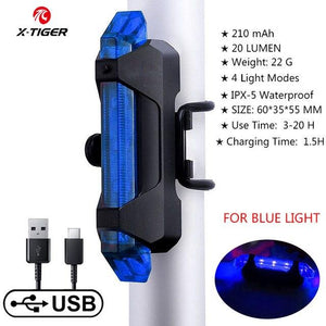 Bike Bicycle Light USB LED Bikewest.com Taillight 5