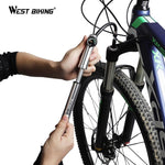 Load image into Gallery viewer, Bike Pump 300Psi With Hose Gauge For Fork Rear Suspension Cycling Bikewest.com