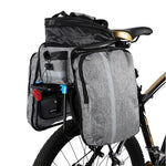 Load image into Gallery viewer, Bike Waterproof Seat Pannier Pack Luggage Cycling Bag 10-25L Bicycle Pannier Bag Rear Rack Trunk Bag With Rain Cover Bikewest.com