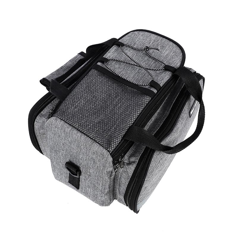 Waterproof bike carrier bag cover