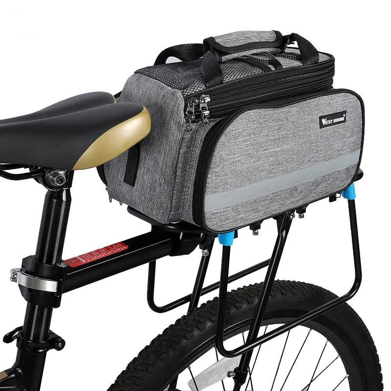 Waterproof bike carrier bag westbike