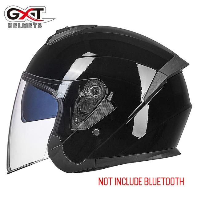 Bluetooth Motorcycle Helmet headset Bikewest.com 703-Bright Black M
