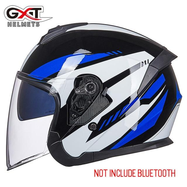 Bluetooth Motorcycle Helmet headset Bikewest.com 703-Bright Blue M