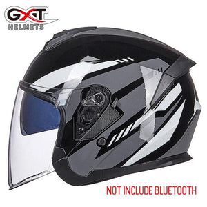 Bluetooth Motorcycle Helmet headset Bikewest.com 703-Bright Grey M