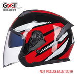 Load image into Gallery viewer, Bluetooth Motorcycle Helmet headset Bikewest.com 703-Bright Red M