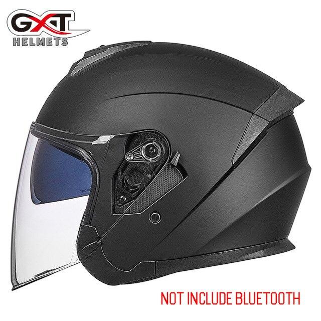 Bluetooth Motorcycle Helmet headset Bikewest.com 703-Matte Black XL