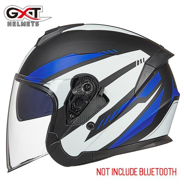 Bluetooth Motorcycle Helmet headset Bikewest.com 703-Matte Blue L