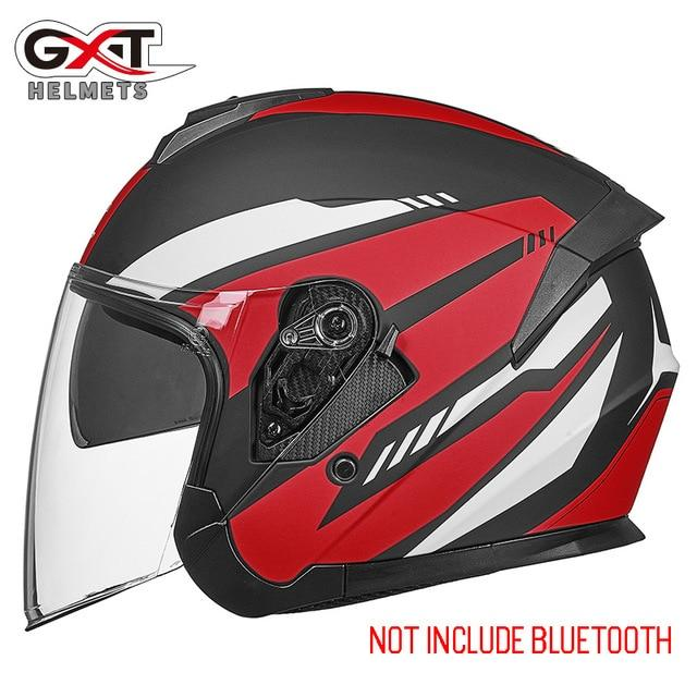 Bluetooth Motorcycle Helmet headset Bikewest.com 703-Matte Red XL