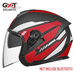 Load image into Gallery viewer, Bluetooth Motorcycle Helmet headset Bikewest.com 703-Matte Red XL