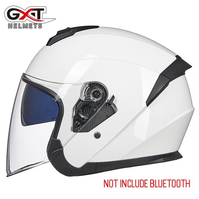 Bluetooth Motorcycle Helmet headset Bikewest.com 703-White XL