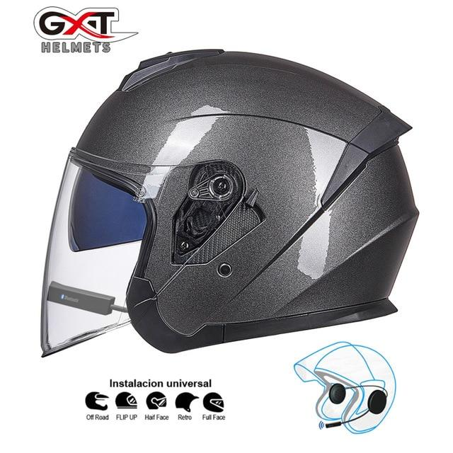 Bluetooth Motorcycle Helmet headset Bikewest.com Grey BT M