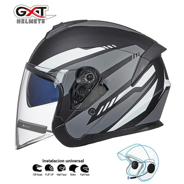 Bluetooth Motorcycle Helmet headset Bikewest.com Matte Grey BT M