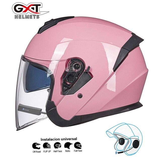 Bluetooth Motorcycle Helmet headset Bikewest.com Pink BT M
