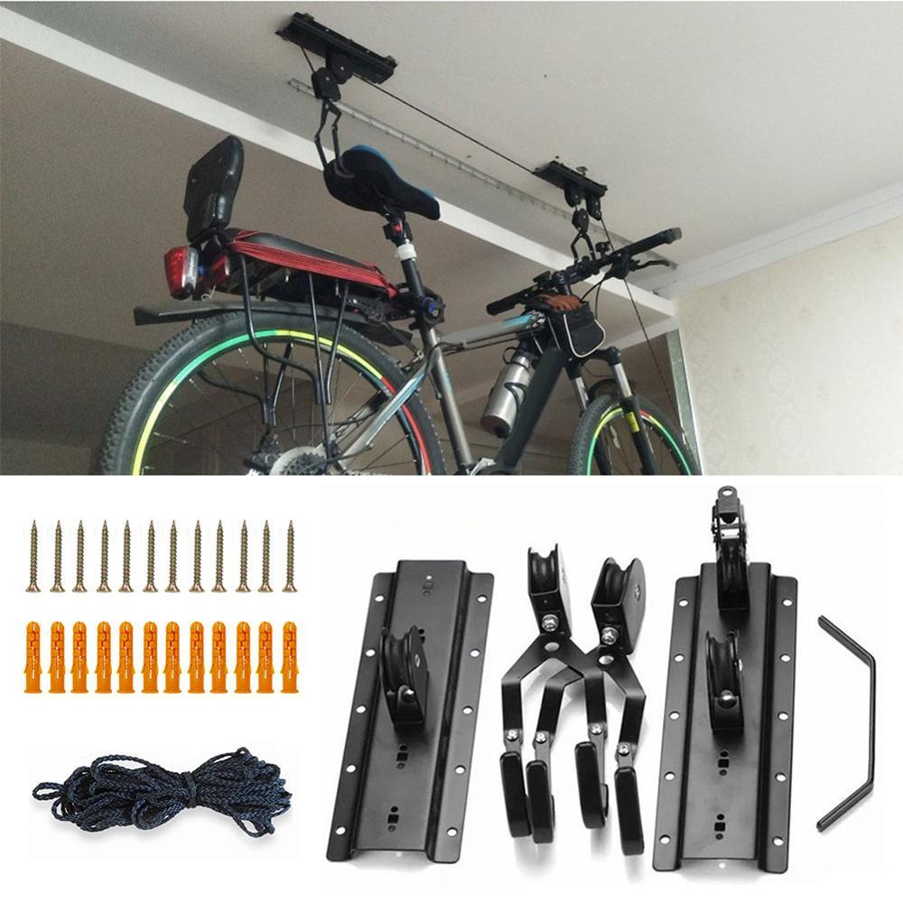 Ceiling Lift Cargo Racks For Bicycle Storage Bikewest.com