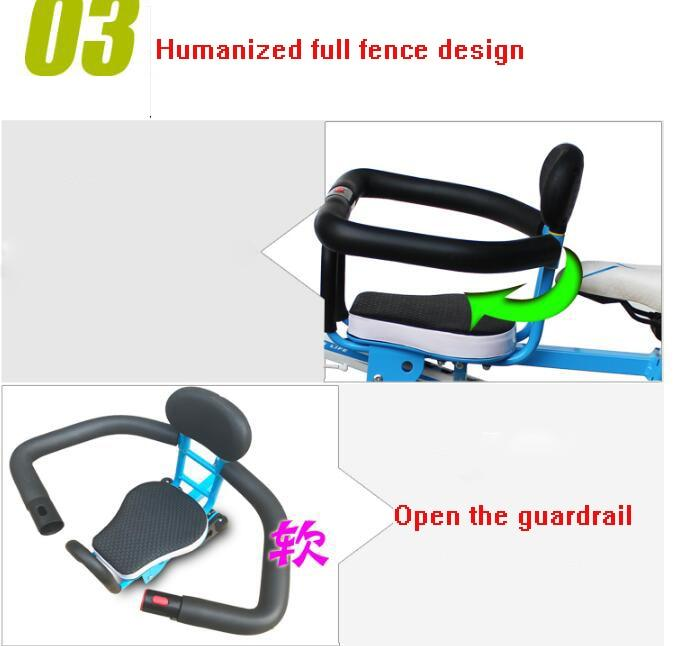 Clearance Promotions 2019 New Children's Bicycle Seats For Electric Mountain Road Front Mat Child Safety Bikewest.com