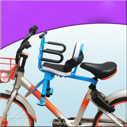 Clearance Promotions 2019 New Children's Bicycle Seats For Electric Mountain Road Front Mat Child Safety Bikewest.com 6m-3year old 3 China