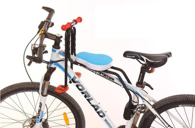 Clearance Promotions 2019 New Children's Bicycle Seats For Electric Mountain Road Front Mat Child Safety Bikewest.com blue China