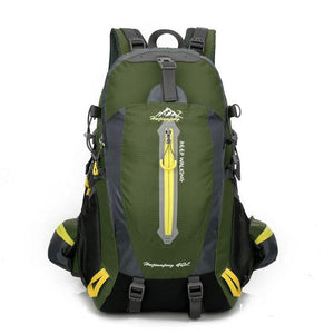 Climbing Backpack Rucksack 40L Outdoor Sports Bag Travel Backpack Camping Bikewest.com Army Green 40L 30 - 40L China