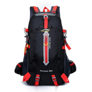 Climbing Backpack Rucksack 40L Outdoor Sports Bag Travel Backpack Camping Bikewest.com B-Red 40L 30 - 40L China