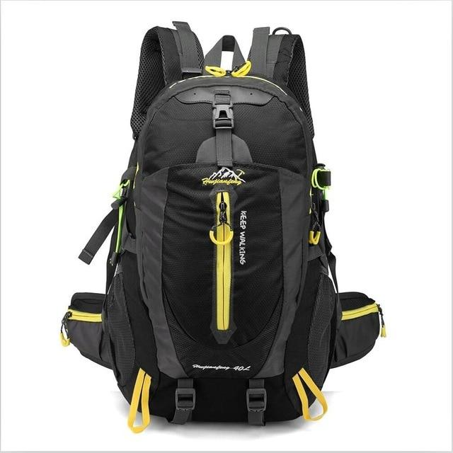 Climbing Backpack Rucksack 40L Outdoor Sports Bag Travel Backpack Camping Bikewest.com Black 40L 30 - 40L China