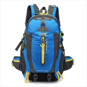 Climbing Backpack Rucksack 40L Outdoor Sports Bag Travel Backpack Camping Bikewest.com Blue 40L 30 - 40L China