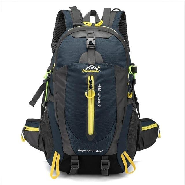 Climbing Backpack Rucksack 40L Outdoor Sports Bag Travel Backpack Camping Bikewest.com Dark Blue 40L 30 - 40L China