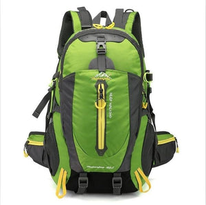 Climbing Backpack Rucksack 40L Outdoor Sports Bag Travel Backpack Camping Bikewest.com Green 40L 30 - 40L China