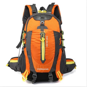 Climbing Backpack Rucksack 40L Outdoor Sports Bag Travel Backpack Camping Bikewest.com Orange 40L 30 - 40L China