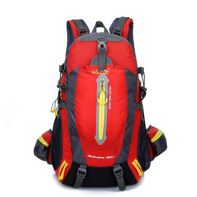 Climbing Backpack Rucksack 40L Outdoor Sports Bag Travel Backpack Camping Bikewest.com Red 40L 30 - 40L China